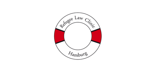 """Logo """"Refugee Law Clinic"""""""