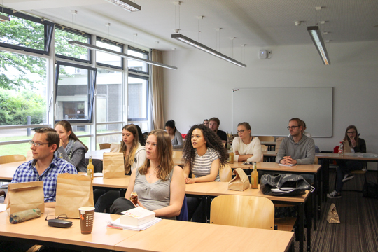 Brown Bag Lectures Studenten