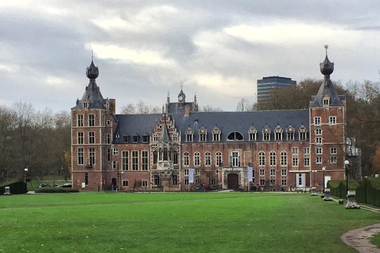 Schloss nähe Universität Leuven