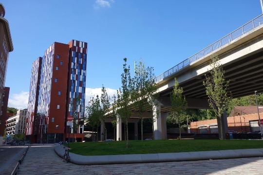 Studentenwohnheim von der Universität Leuven