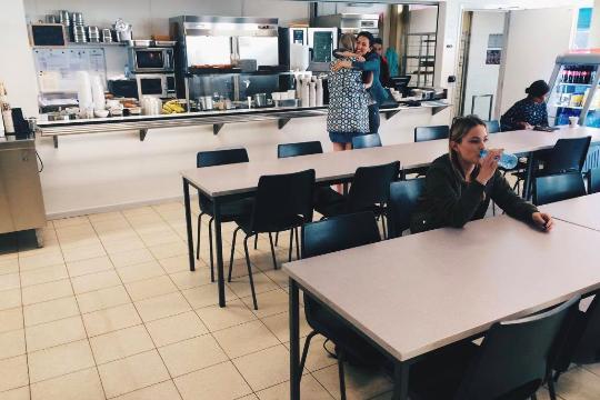 Universität Gent Cafeteria