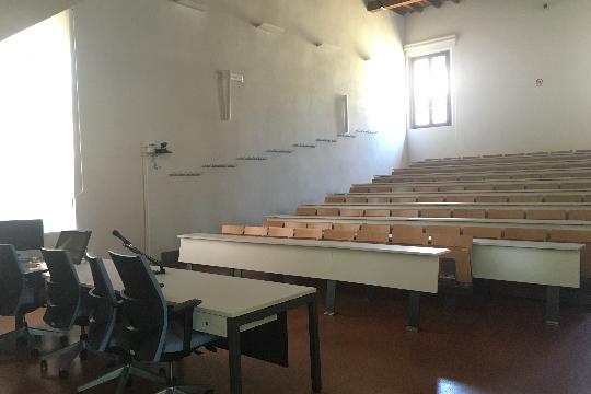 Hörsaal der Universität Modena