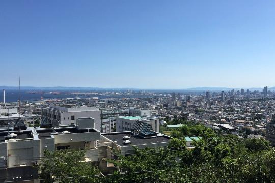 Kobe Blick vom Campus