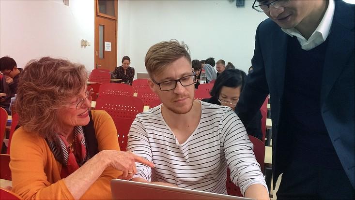 Der polnische Jurastudent beschäftigt sich in Peking mit chinesischem Recht