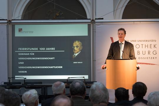 100 Jahre Seminar für Versicherungswissenschaft