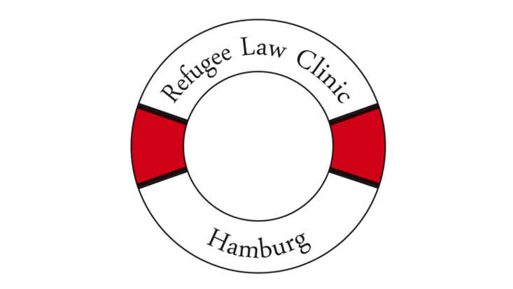 Logo der Refugee Law Clinic Hamburg