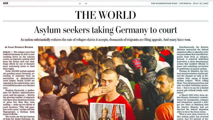 Washington Post 27. Juli 2017, S. A10