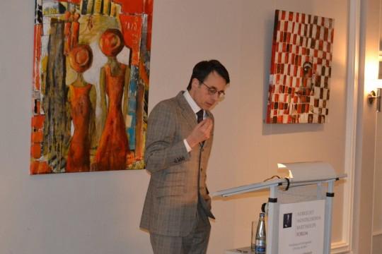 Ansprache durch Herr Pedro Cruz Villalon