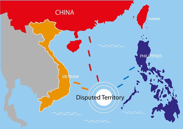 Die Spratly-Inseln im Südchinesischen Meer sind umstritten
