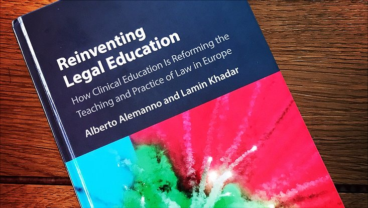 Buchcover Reinventing Legal Education in Europe