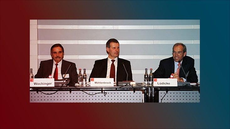 Peter Wochinger, Rolf Möhlenbrock, Jürgen Lüdicke