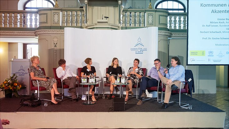 Flüchtlingsschutzsymposium, Ev. Akademie Berlin