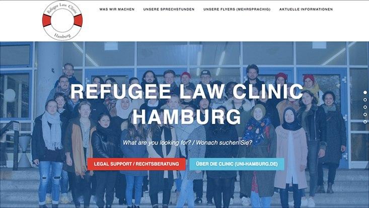 Neue externe Homepage RLC Hamburg