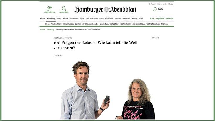 Foto von Prof. Dr. Timo Busch und Prof. Dr. Martina Neuburger