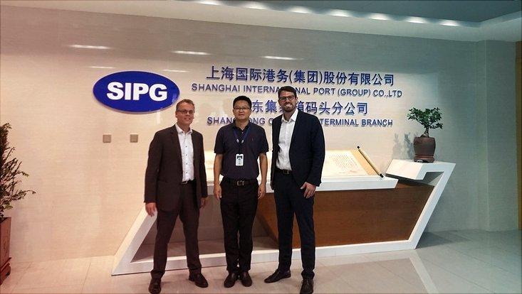 SIPG in Shanghai besucht