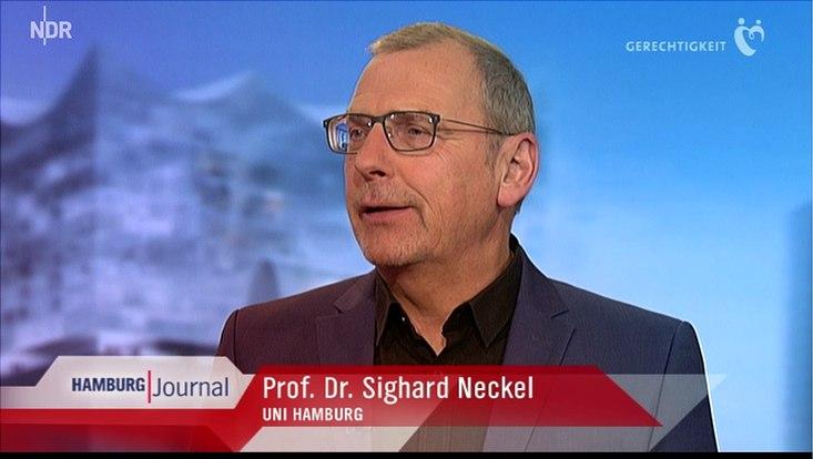 Prof. Neckel im Interview mit dem NDR Hamburg Journal.
