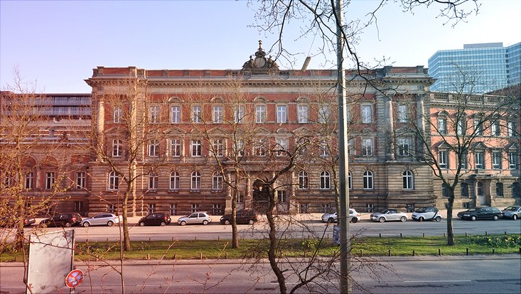 Gebäude Gorch-Fock-Wall 3-5 Ehemalige Oberpostdirektion