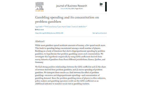 Gambling Spending