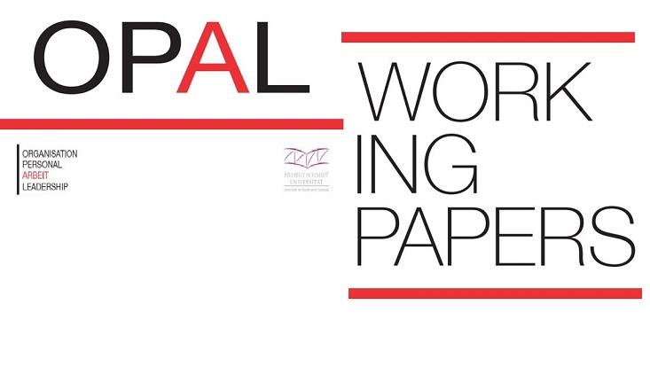 Logo der OPAL working paper Reihe