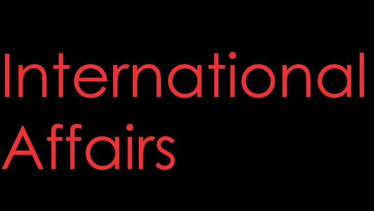 Journal Logo International Affairs