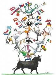 Malen für Europa - Zeichnung aus dem Buch des Verlags Beltz & Gelberg