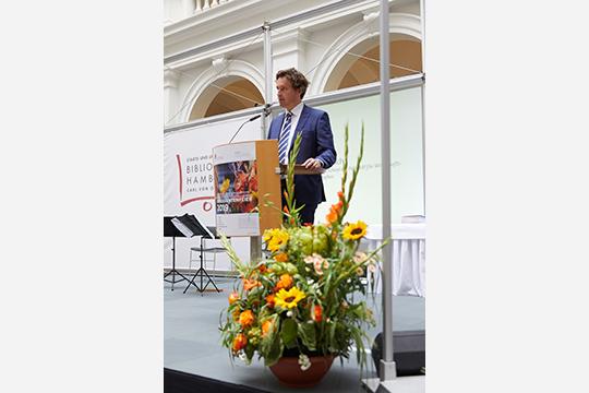 Der Direktor der Graduate School Prof. Dr. Timo Busch