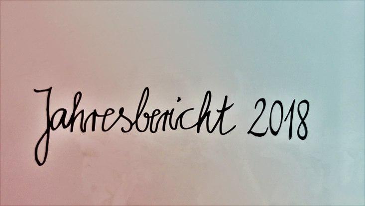 """Schrift """"Jahresbericht 2018"""""""