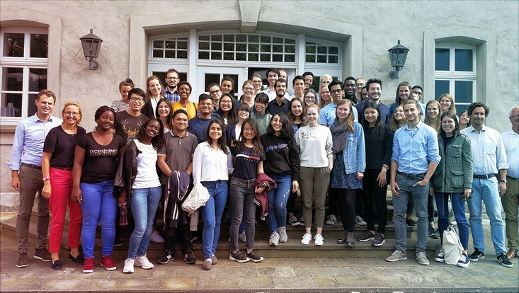 Exkursion Gruppenfoto der Teilnehmer