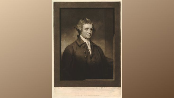 Portrait Edmund Burke
