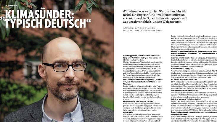 Ein Bild von M. Brüggemann in Zusammenhang mit dem Interviiew