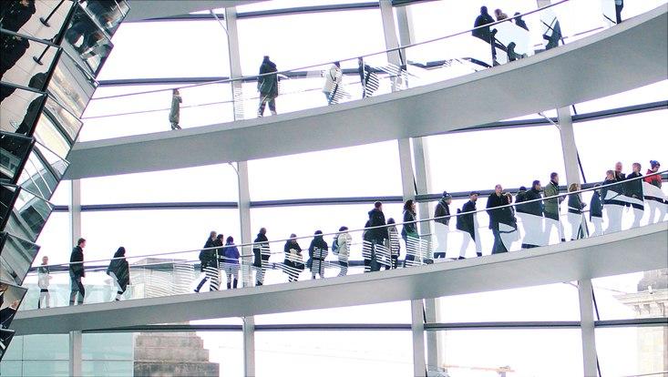 Foto Ausschnitt Reichstag