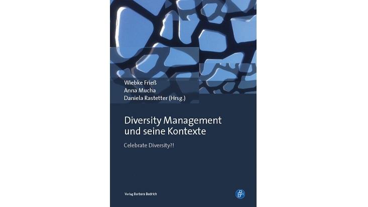 Cover des Buchs Diversity Management und seine Kontexte.
