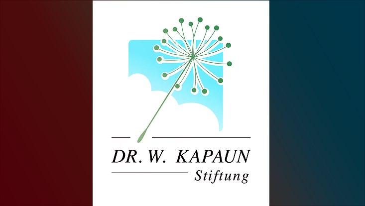 Logo Kapaunstiftung mit Pusteblume