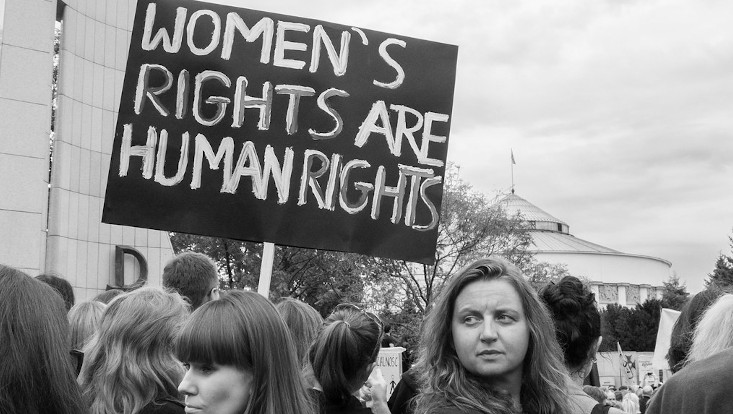 "Demo-Transparent: ""Women's Rights are Human Rights"""