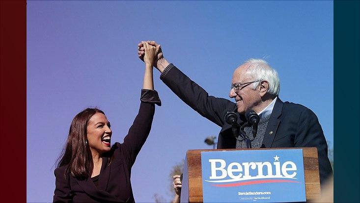 Bernie Sanders und AOC