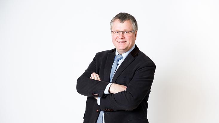 Herr Professor Doktor Knut Haase im Portrait