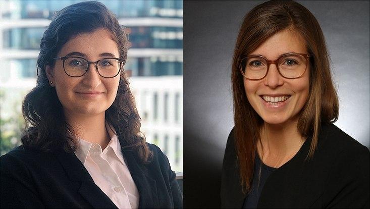Lilly Murmann (student assistent) and Carolin Saltzmann (research associate)