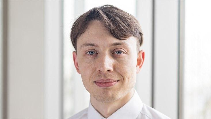 Portraitaufnahme Nils Geib, M.A., Wissenschaftlicher Mitarbeiter
