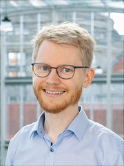 Portraitaufnahme Dr. Peter Schubert Wissenschaftlicher Mitarbeiter