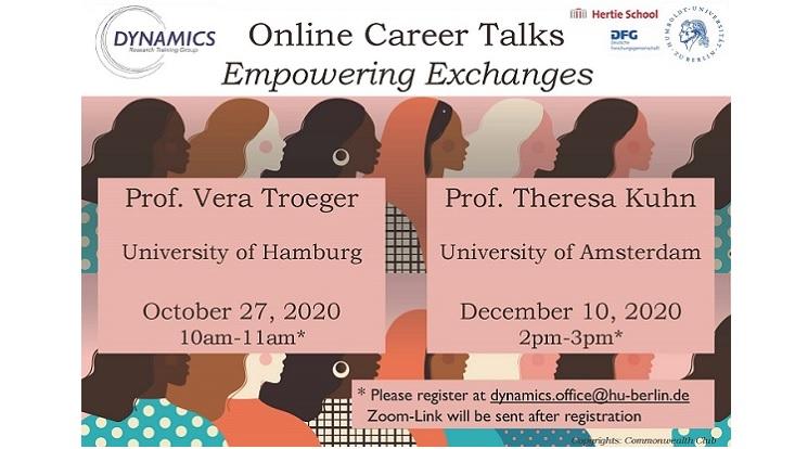 DYNAMICS Online Career Talk on October 27 2020