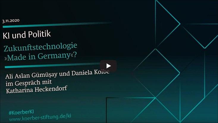 Künstliche Intelligenz, Politik & Wirtschaft