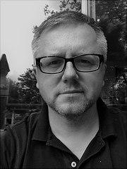 Portrait von Professor Fritsche in schwarz-weiss