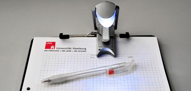 Bild Block und Kugelschreiber