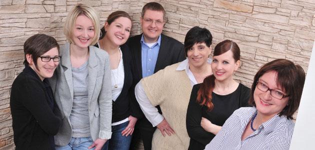 Team der Professur Personal und Gender