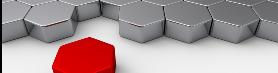 Roter Puzzlestein vor grauer Fläche aus gleich geformten Puzzlesteinen