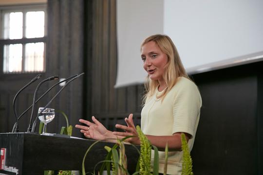 Rede der Absolventin Frau Dr. Tatjana Kazakova