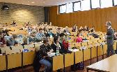 Vorlesung im Hörsaal Von-Melle-Park 9