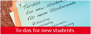 to-dos for new students