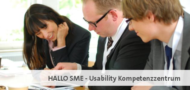 HALLO SME - Usability Kompetenzzentrum