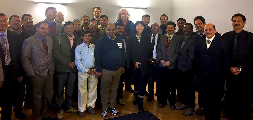 Delegation aus Indien